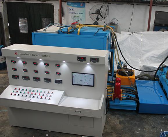 出厂液压泵试验台