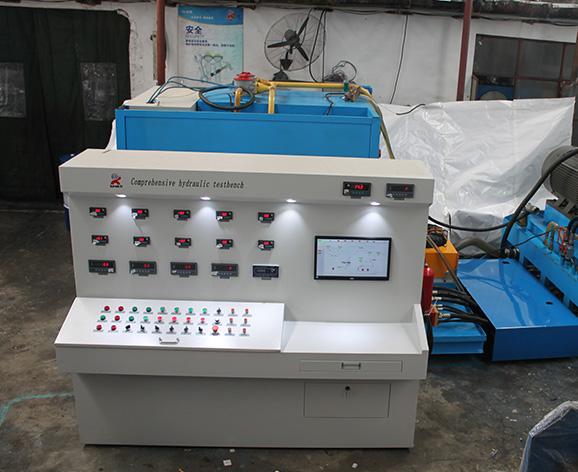 破坏性液压泵试验台