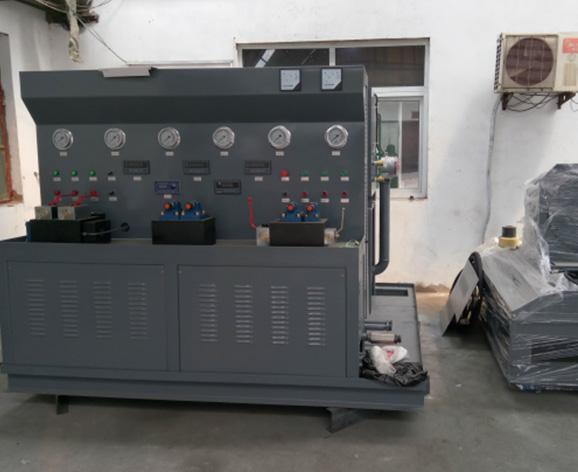 厂房-液压试验台展示